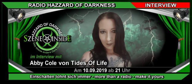Tides of Life bei Radio Hazzard of Darkness